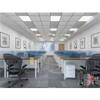 整层的大办公室办公楼怎么装修设计?看郑州硅谷广场设计案例