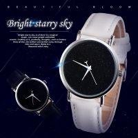 欧美热卖男女学生情侣手表  手表简约月牙浪漫星空满天星中性表