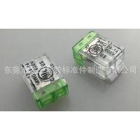 P04-2P美规无螺纹接线端子 龙三厂家供应