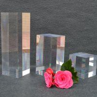 高透明亚克力产品展示垫有机玻璃实心圆柱展示大小可定制