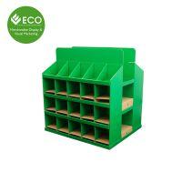 商品纸板展示架 专业定制商场超市产品纸堆头