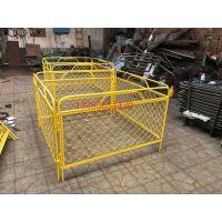 1.2*2.5米路障市政护栏网防撞烤漆围栏防坠落安全栏汇能