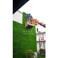大型户外门头仿真植物墙抗UV防晒假绿植草皮围挡绿化装饰