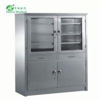 HR-C03器械柜不锈钢多层文件柜带文件档案柜储物柜医疗仪器柜药品柜