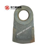 锤式破碎机耐磨合金锤头产地货源厂家直销可定制