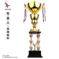 中国端午节划龙舟比赛奖杯 胜利女神为你喝彩 独特的闪亮彩色设计