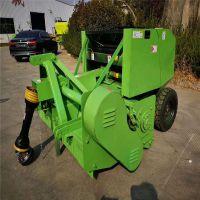 牧草收割打捆机 自走式自动捡拾打捆机 青贮牧草打包机厂家直销