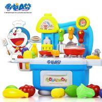 益米儿童过家家煮饭玩具女孩做饭厨房过家家煮饭宝宝厨具餐具套装