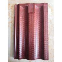 厂家供应:釉面彩瓦、陶瓷屋面彩瓦,龙冠制造