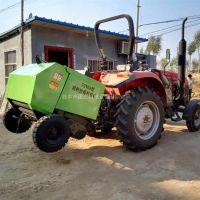 经济实用秸秆打捆机 易操作拖拉机牵引式打捆机