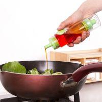 油壶喷雾式家用按压双头外出户外便携调味瓶香油酱定量烧烤油醋瓶