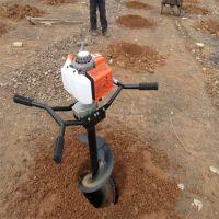 手提式破冰机厂家直销 破冰捕鱼汽油挖坑机 50厘米直径挖坑机