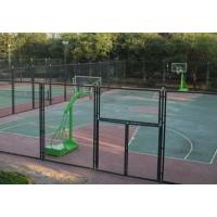 淮南市雨山区建材市场专卖包塑网球场防护网喷塑球场防护网、PVC篮球场隔离网