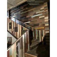 老木板旧木板彩色板批发