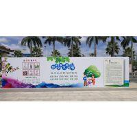 户外喷绘广告招牌设计、制作的原则!海南海口户外喷绘广告设计、制作、安装广告公司!