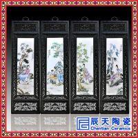 景德镇青花瓷大师手绘陶瓷瓷板画名家客厅饰品挂画装饰画挂屏摆件