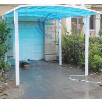 名豪A-01别墅停车棚小区车棚铝合金耐力板雨棚厂家