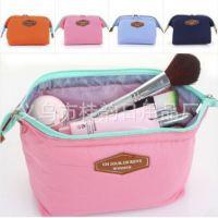 韩国多功能时尚钢架尼龙化妆包 新款旅行便携洗漱包大容量收纳包