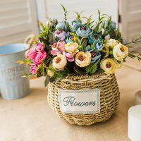 厂家批发10头星星苞 小茶苞 玫瑰蕾 珍珠苞 仿真花 塑料花苞