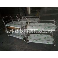 厂家杭州载秋科技供应 不锈钢小推车 焊接式工作台