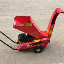 移动式柴油汽油枝条破碎机 小型家用果园碎枝机供应厂家