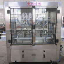 防冻液灌装生产线-创兴机械-气动防冻液灌装生产线