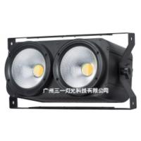 新款COB两眼观众灯 COB100W面光灯 舞台演出暖白正白爆闪效果灯