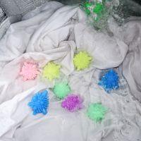 日本洗衣机干洗球 防缠绕实心除毛去污魔力洗衣球 塑料文胸洗衣球
