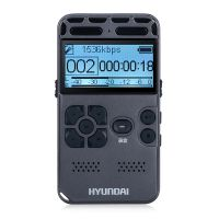 韩国现代专业微型录音笔高清降噪远距声控无损录音HIFI音乐播放器