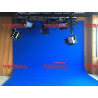 耀诺演播室蓝箱绿箱装修设计 虚拟演播室灯光工程