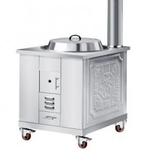 不锈钢移动柴火灶-新型节能不锈钢移动柴火灶-启航不锈钢制品