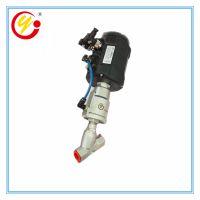 冠宇直销配powerflow智能定位器角座阀 内螺纹连接气动比例调节阀