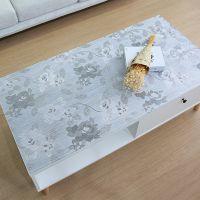 客厅电视柜垫子PVC桌布防水床头柜茶几垫塑料透明水晶板软玻璃垫