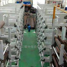上海10米棒材存取方法 天车配套 伸缩悬臂式货架