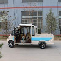 厂家直销 纯电动货车 家用电动四轮皮卡 双排小货车 油电两用
