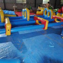 攀爬闯关的体育趣味运动会道具心悦游乐22000型涂层夹网PVC环保材料制作