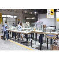 广州首饰展示柜厂家 商场专柜首饰柜台制作 不锈钢首饰展柜设计