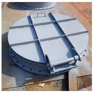 鑫川厂家PMY型DN1500法兰式钢制拍门 专业定制