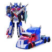 变形玩具金刚5黑曼巴KO卡车擎天之柱电影还原级放大机器人模型