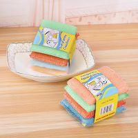 创意厨房洗刷大王清洁布 锅具洗刷海绵 单个价格 4个一卡