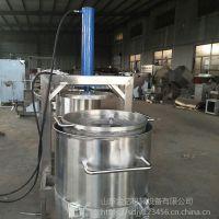 葡萄沙棘挤压榨汁机 重庆豆渣果蔬渣液压收汁机 山东金亿定做液压榨汁机