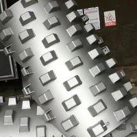 羊角碾 洛阳凸块厂家 压路机配件按需定制