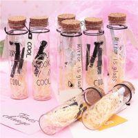 北欧风摆件zakka小号字母玻璃许愿瓶简约星星瓶漂流瓶学生礼品