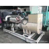 工厂闲置大宇350KW发电机组出售|原装二手发电机P158LE设备回收