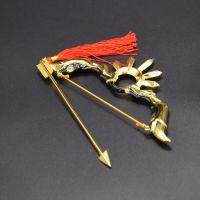 王者兵器兵器模型后羿半神之弓精灵王阿尔法小队成吉思汗苍狼未裔