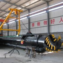 液压绞吸式吸污船 液压绞吸式吸污船价格 凯翔 环保绞吸式吸污船