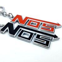 汽车钥匙扣NOS金属钥匙圈改装个性钥匙挂饰创意通用钥匙挂件
