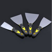 供应双色柄镜面油灰刀 1-6寸多规格腻子刮刀 耐腐耐锈钢制油灰刀