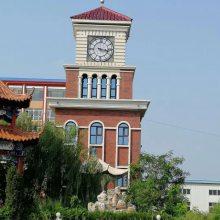 定制外墙挂钟建筑塔钟钟楼成品钟塔楼大钟校园文化钟楼大钟