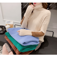 便宜女装毛衣冬季加厚毛衣高领打底衫清货几元库存服装批发女装羊毛衫清
